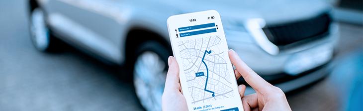 aplicacion de smartphone para socio conductor